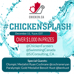 #ChickenSplash Twitter Party with Special Guests
