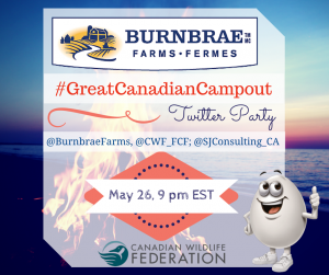 #GreatCanadianCampout Twitter Party