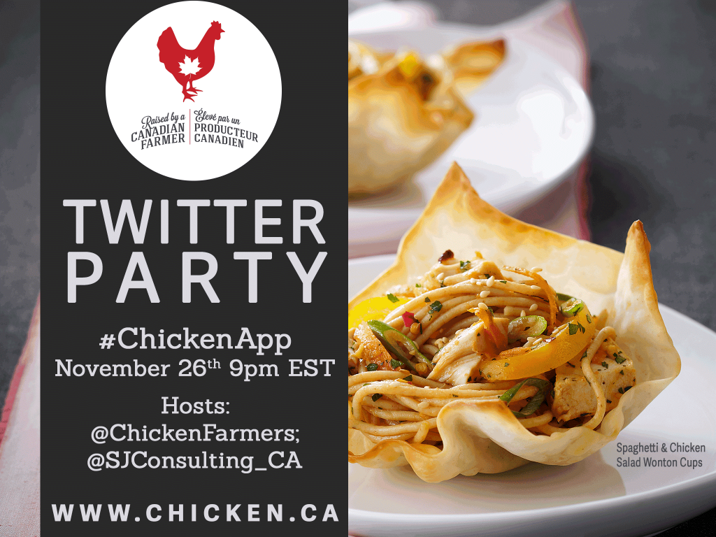 #ChickenApp Twitter Party Image 2