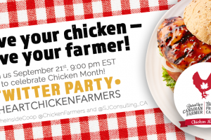 National Chicken Month and #IHeartChickenFarmers Twitter Party