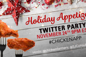 #ChickenApp Twitter Party