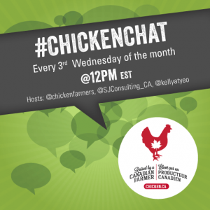 #ChickenChat Schedule for 2017
