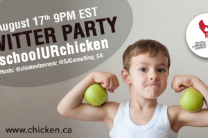 Back to the Grind with #schoolURchicken Twitter Party