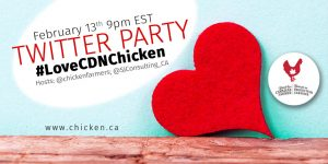 #LoveCDNChicken Twitter Party