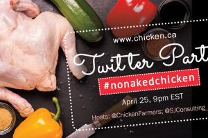 #NoNakedChicken 2018 Twitter Party