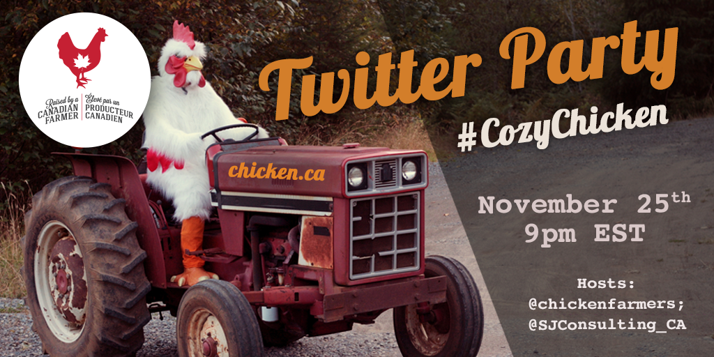 #CozyChicken 2020 Twitter Party